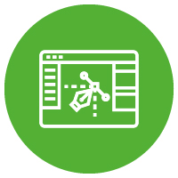 webpage green icon